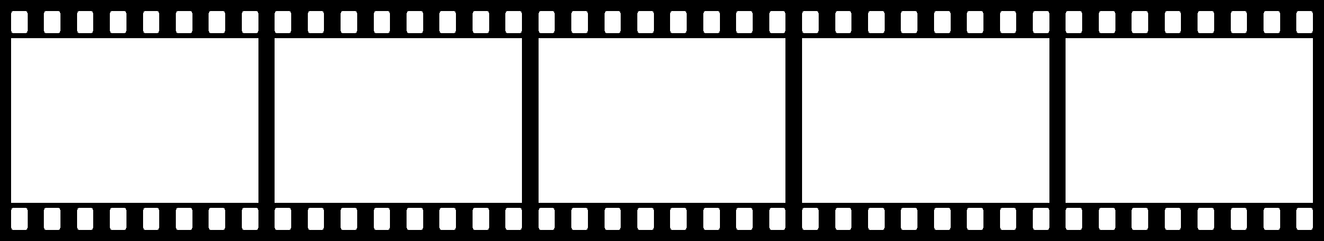 Blank film strip template clipart best for Film strip picture template