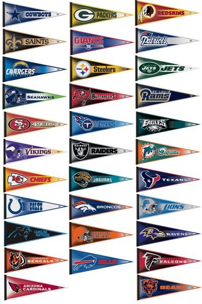 NFL Team Logos Clip Art