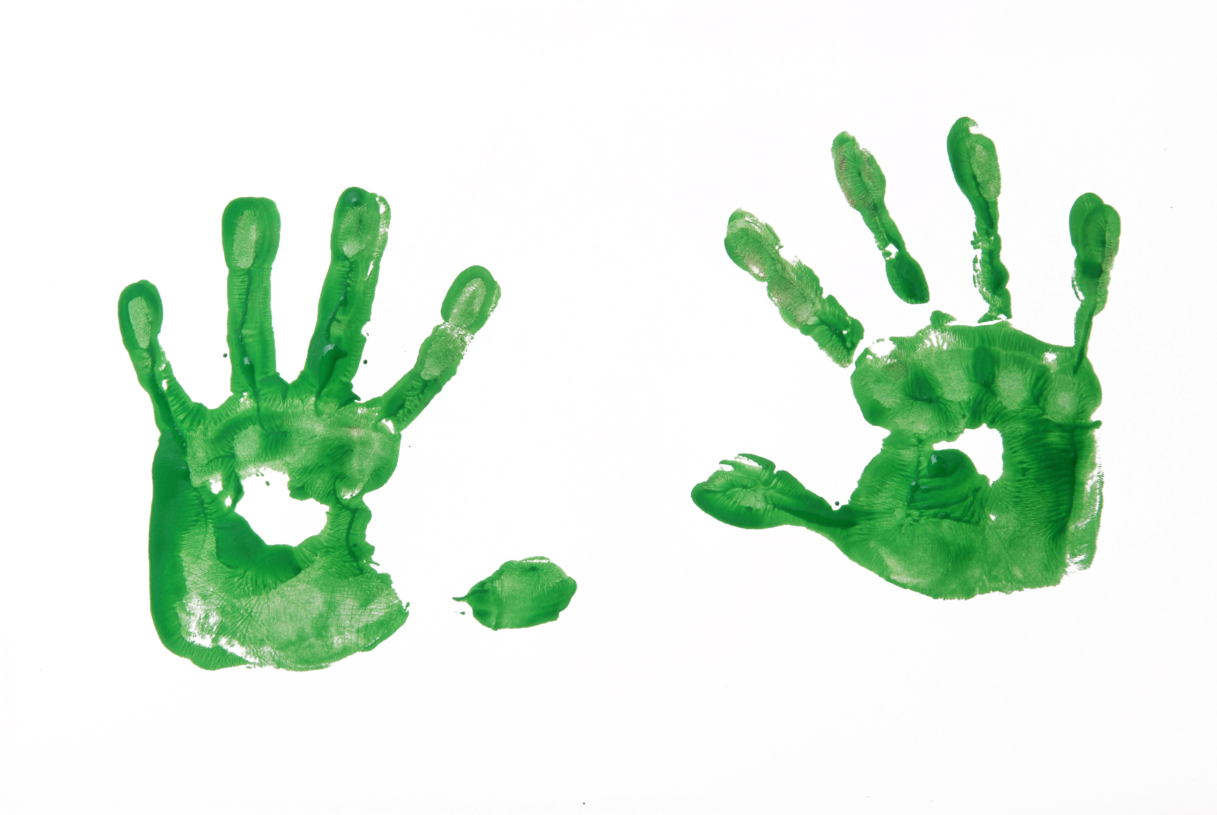 Pictures Of Handprints...