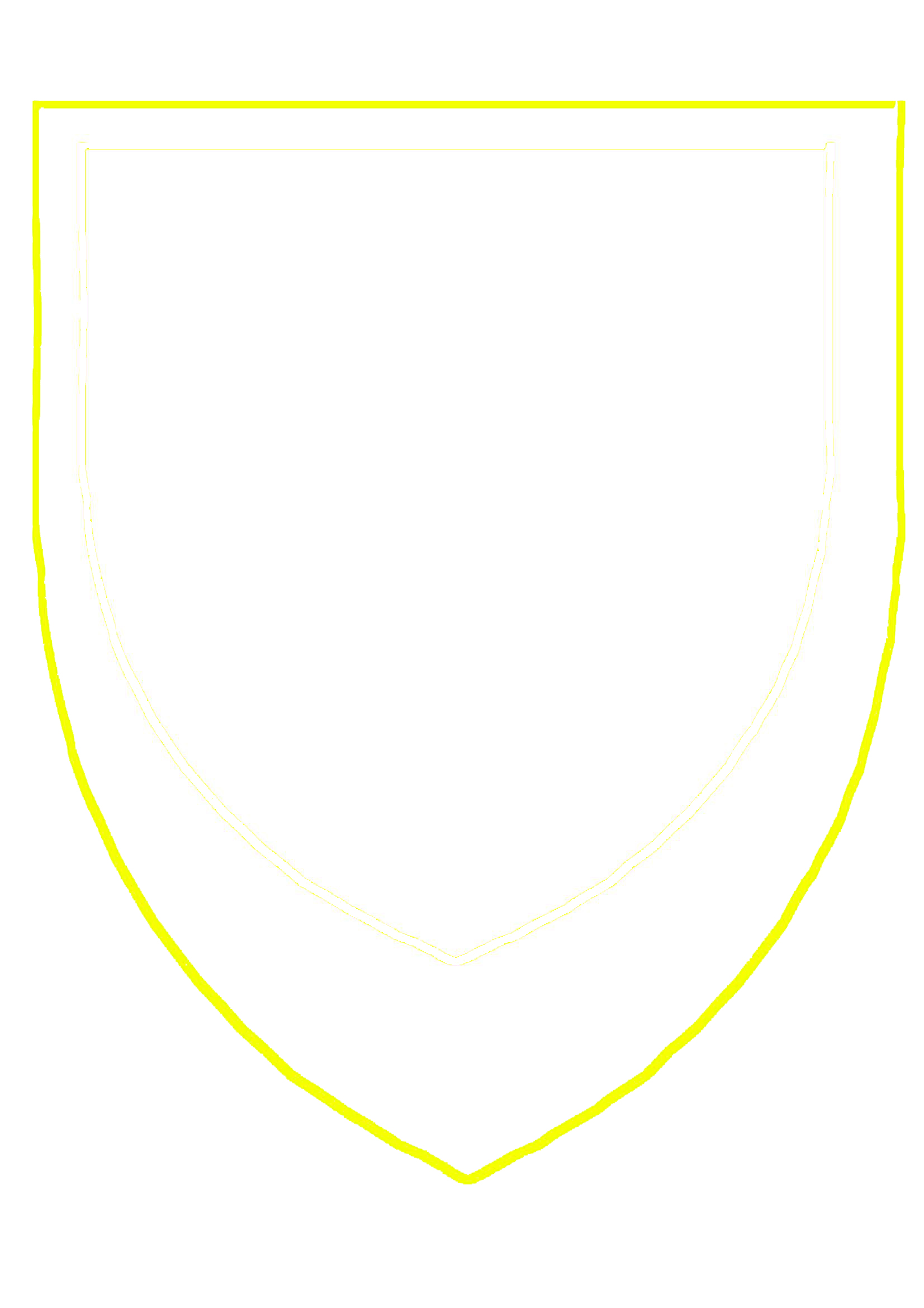 Shield Outline Png Black Shield Outline