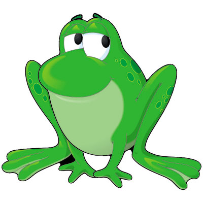 Frog On Lily Pad Clip Art - ClipArt Best