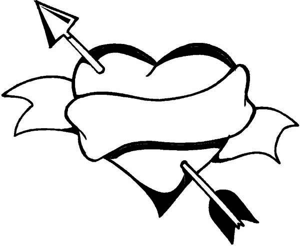 Heart & Arrow - ClipArt Best