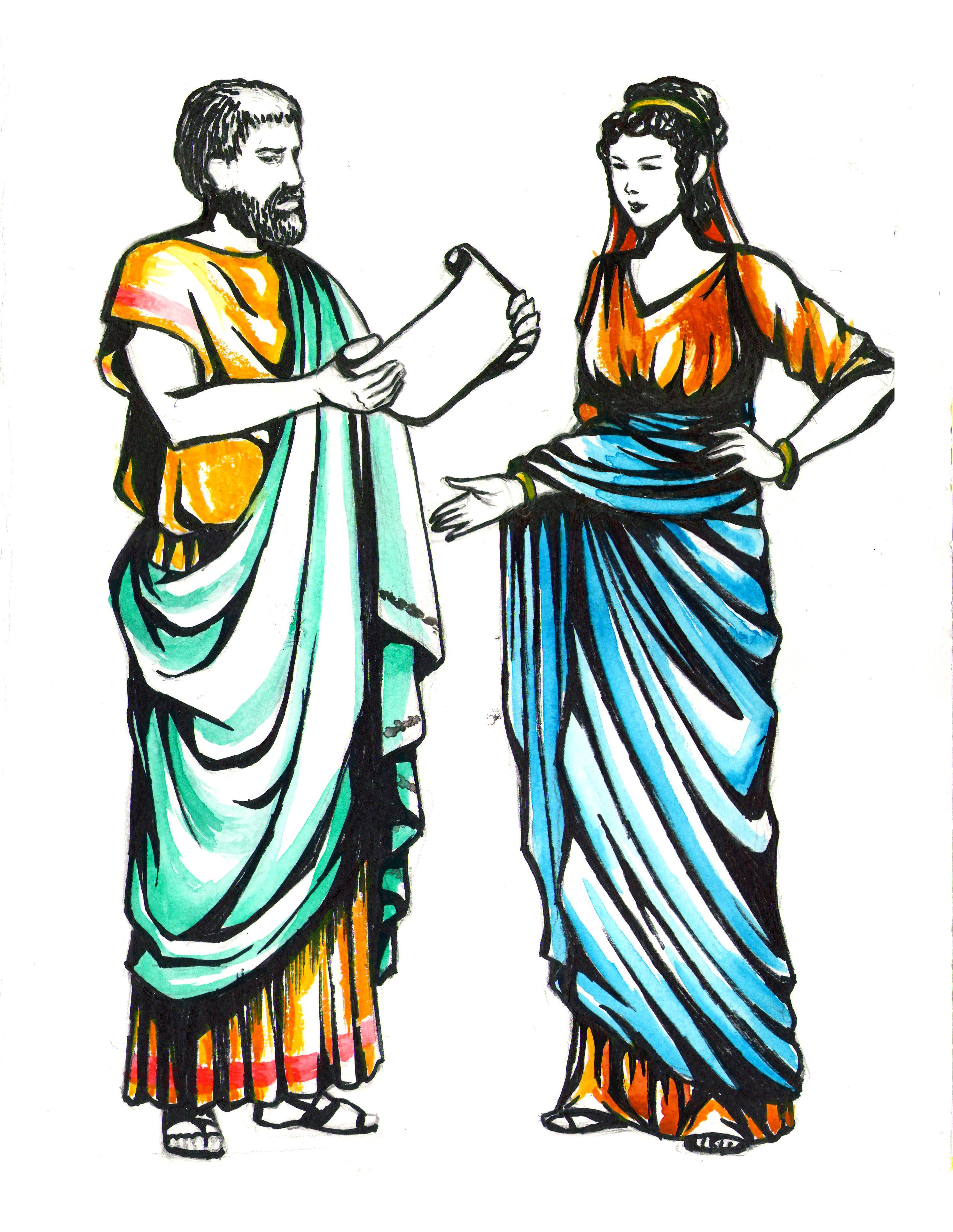 Все о одежде в древнем риме