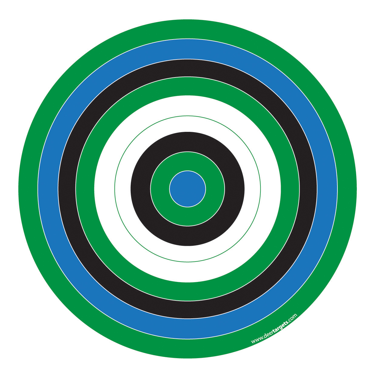 This is a photo of Soft Printable Bullseye Target