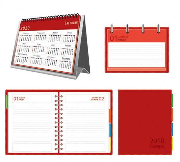 calendar notepad vector | Download free Vector