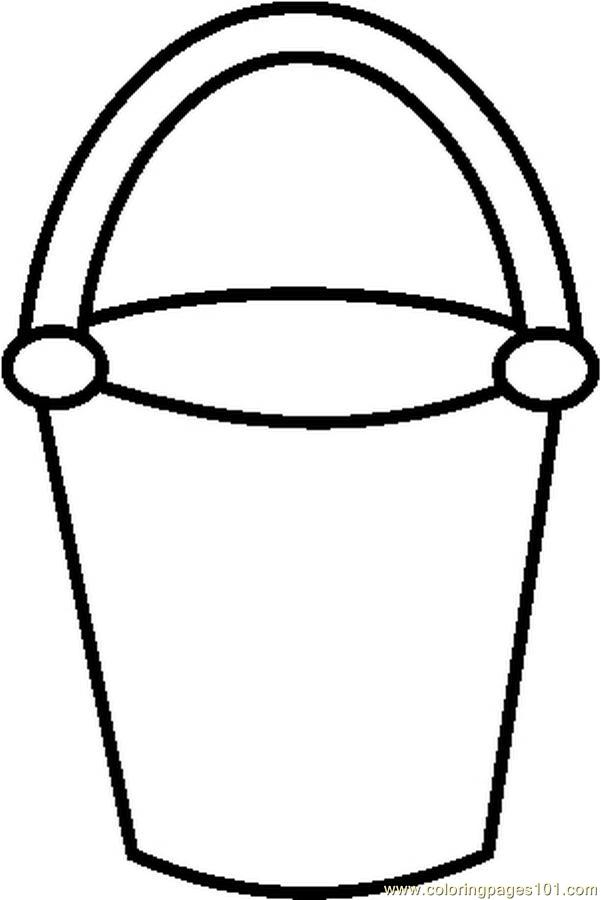 sand bucket template sand shovel template clipart best