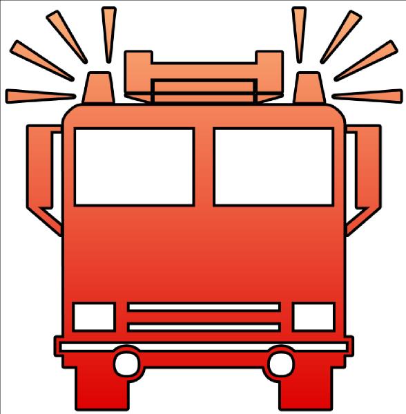 Fire Truck Outline - ClipArt Best