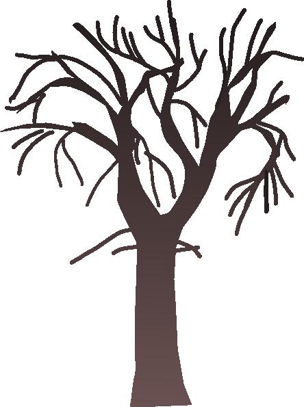 bare fall tree clip art - photo #8