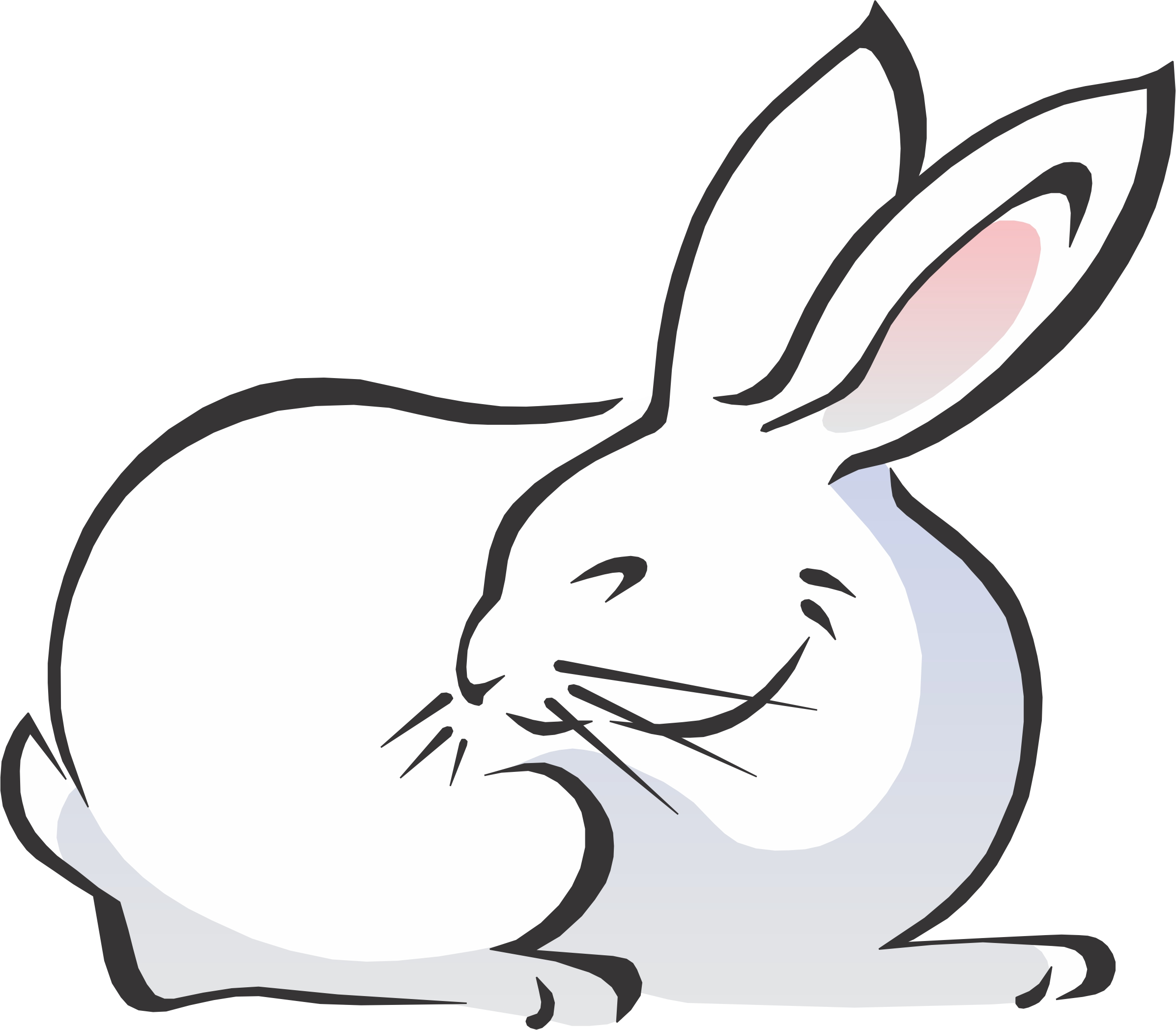 clipart rabbit cartoon - photo #21