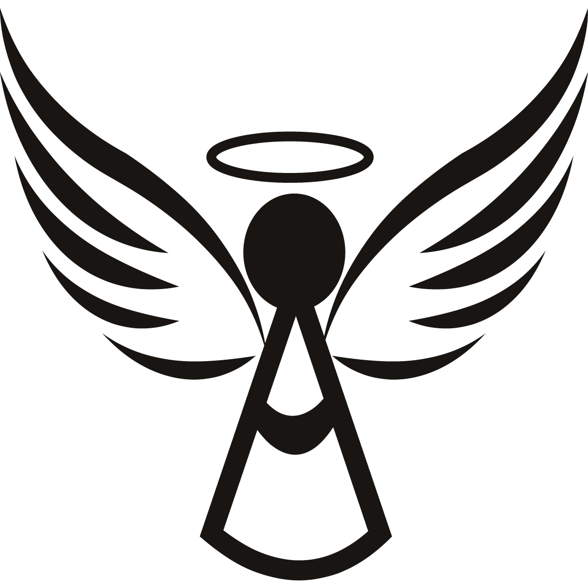 angel wings and halo clip art black and white clipart best angel wings clipart png simple angel wings clipart