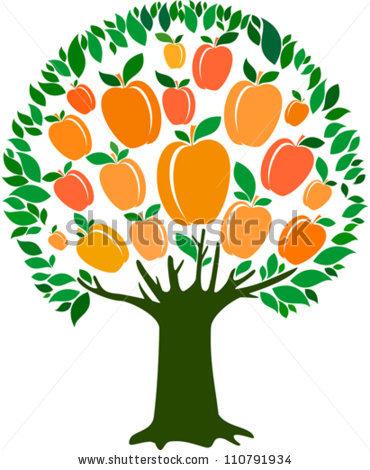 Cartoon Peaches Tree - ClipArt Best