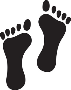 Footprints In The Sand Clipart - ClipArt Best