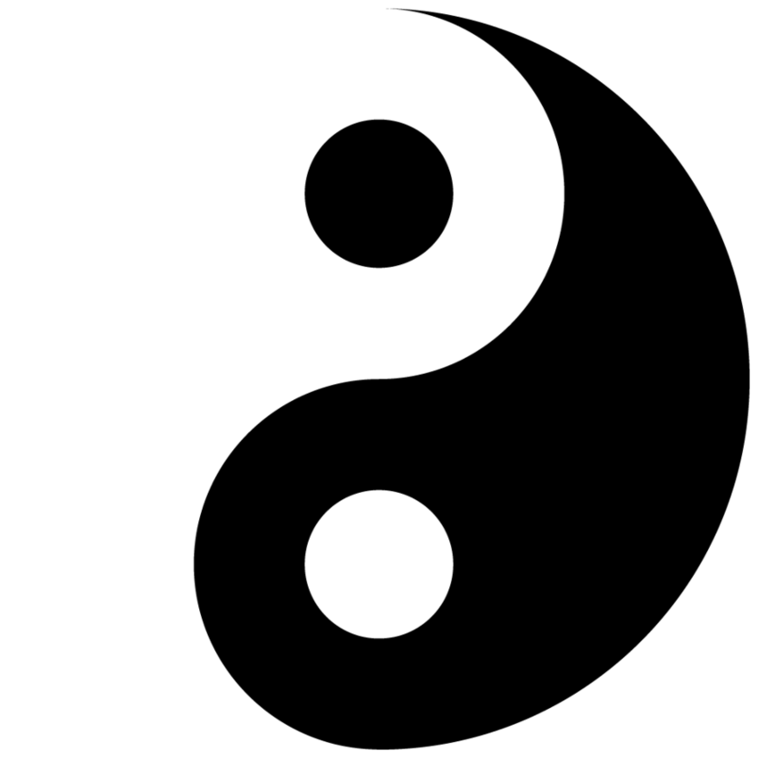 Yin Yang Logo Vector Clipart - Free to use Clip Art Resource