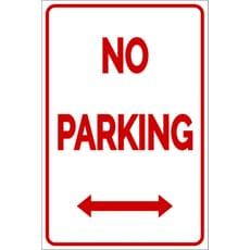Parking sign template clipart best for No parking signs template