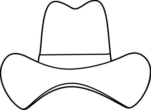 cowboy hat stencil free clipart best cowboy hat clip art b&w cowboy hat clip art b&w