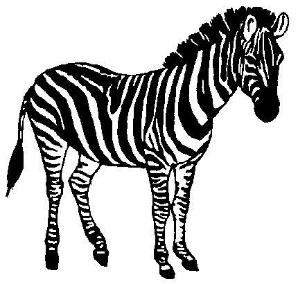Clip Art - Clip art zebras 692459 - ClipArt Best - ClipArt Best