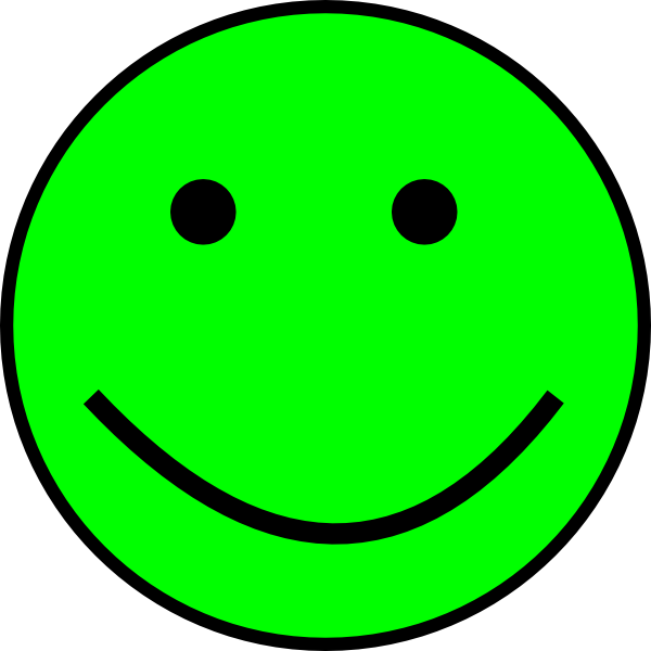 Cartoon Happy Face Clipart