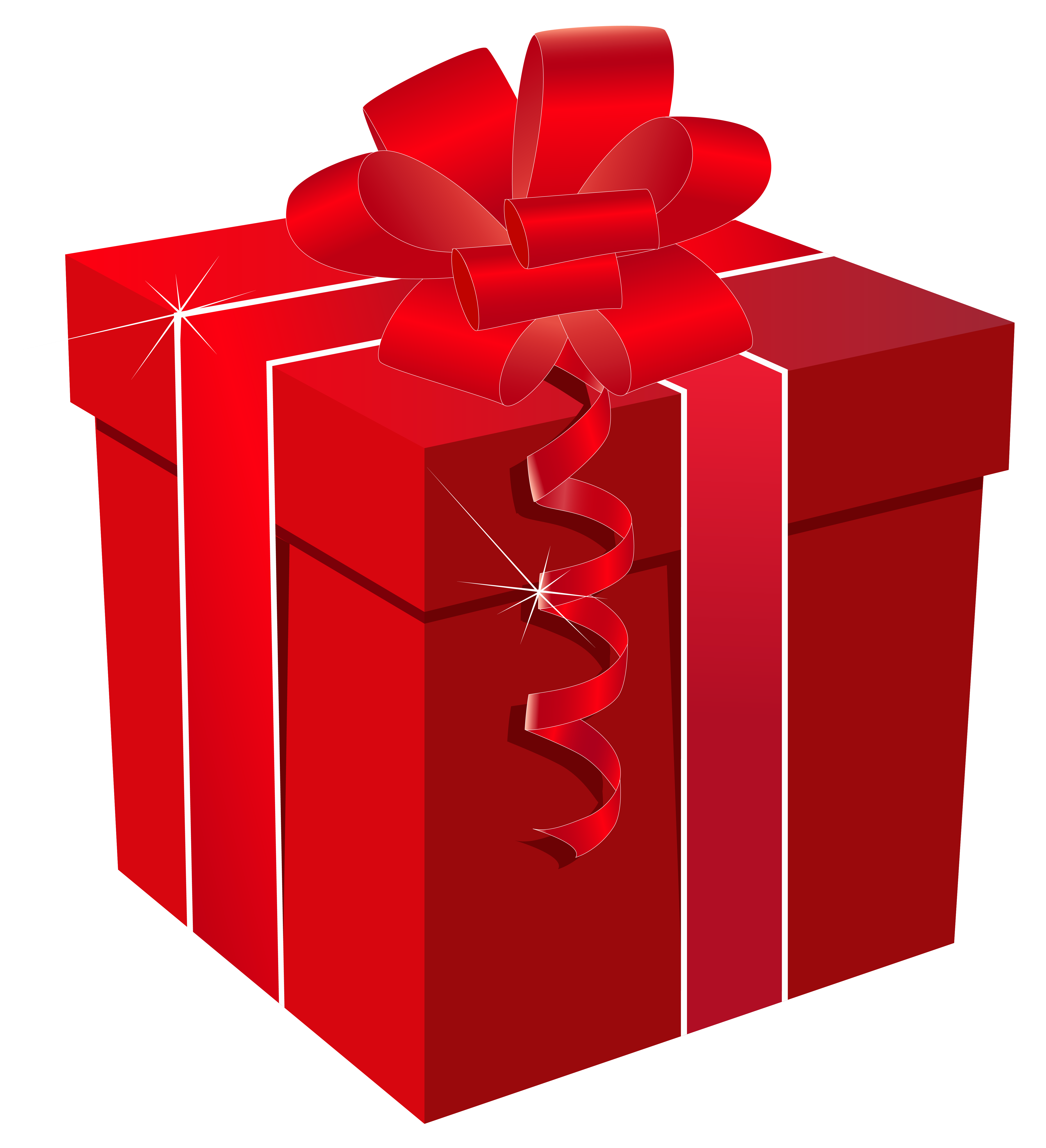 Red Gift Box - ClipArt Best