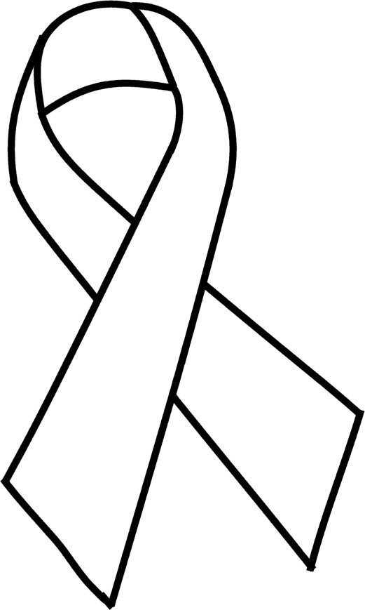 cancer ribbons coloring pages - photo#42
