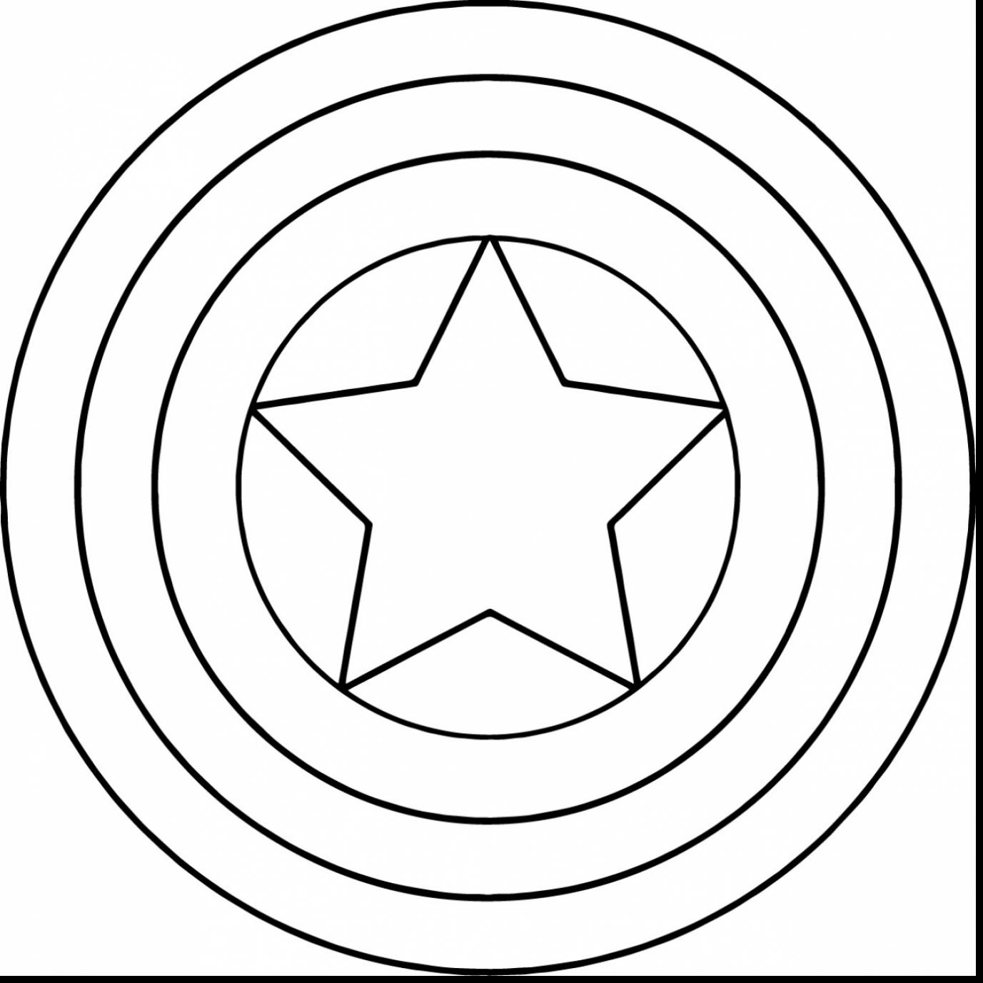 Shield Coloring Page Clipart Best