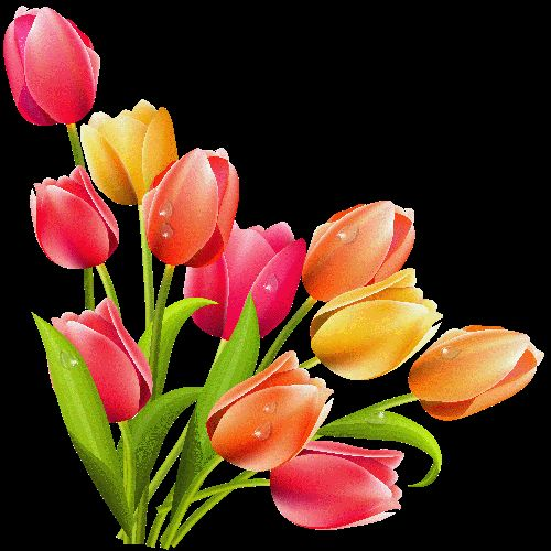 free easter flower clip art - photo #42