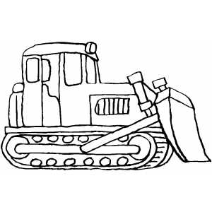 Bulldozer Drawing - ClipArt Best