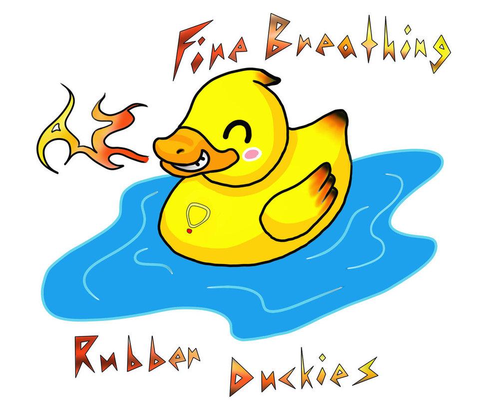 Fire Breathing Rubber Ducky Clipart Best