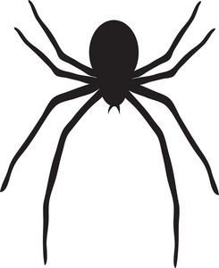 Big spider outline clipart best - Spider outline clip art ...