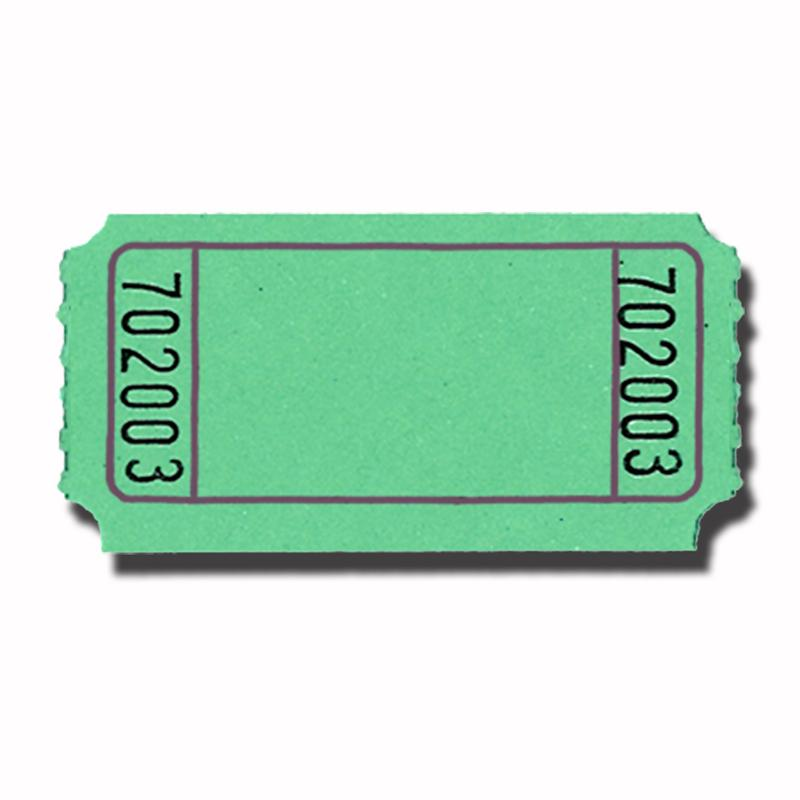 Blue Ticket Clipart