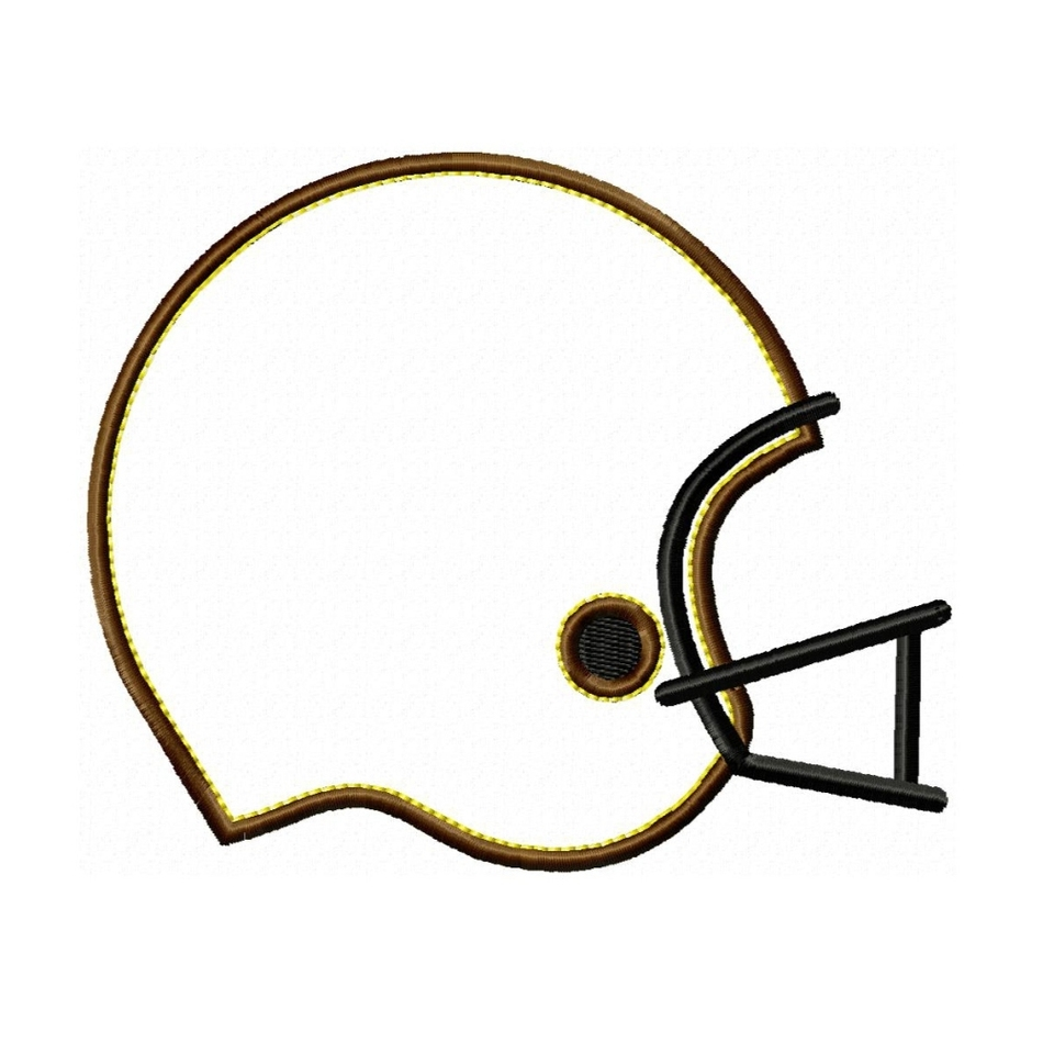 Football outline template