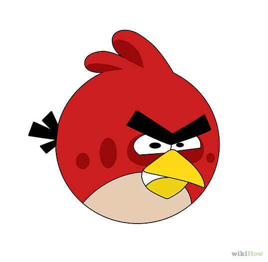 How to Draw an Angry Bird (Emotions): 15 Steps (with Pictures ...