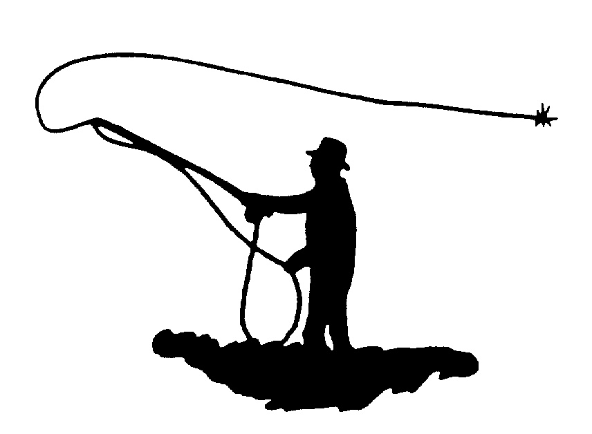 Flyfishing Silhouette - ClipArt Best