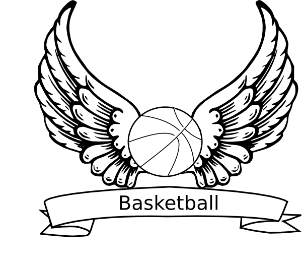 Basketball Line Drawing - ClipArt Best
