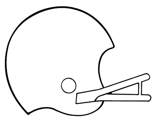 Ridiculous image throughout free football stencil printable