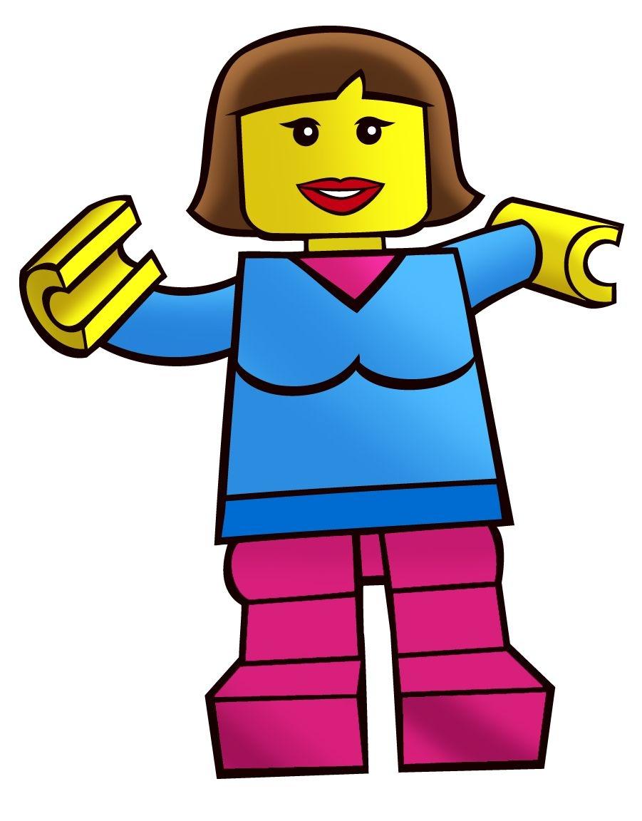 Lego Figure Printable - ClipArt Best