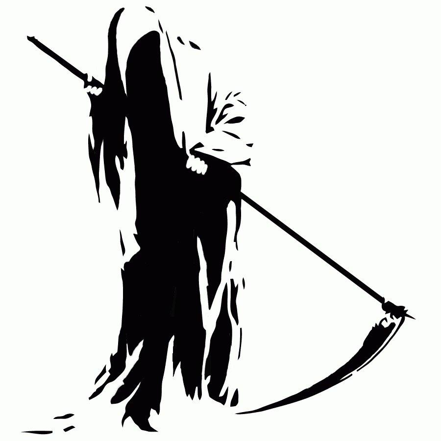 Clip Art Grim Reaper Clipart grim reaper clip art clipart best by kgcopper on deviantart