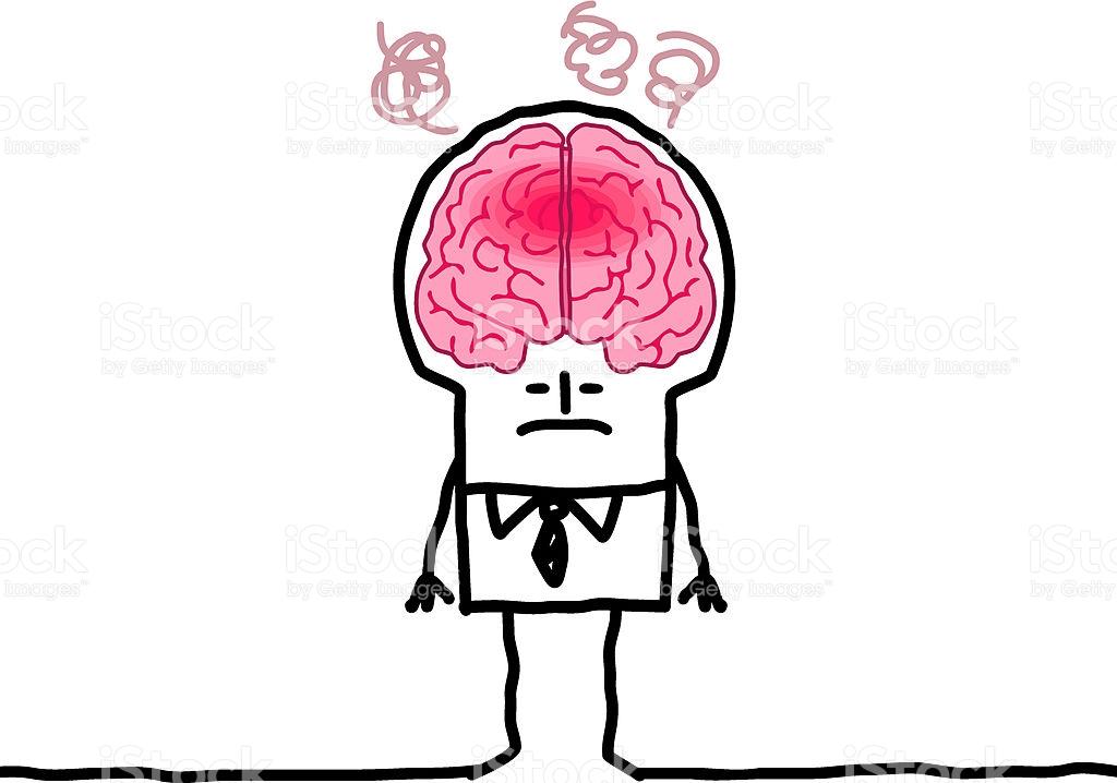 Line Drawing Brain : Brain vector art clipart best