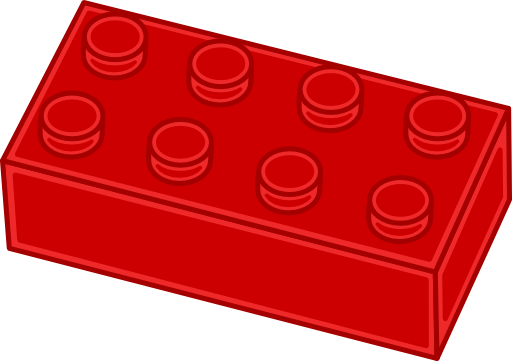 lego brick side view clipart - photo #20