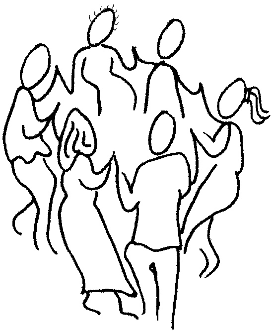 Line Art People : Line drawing of people clipart best