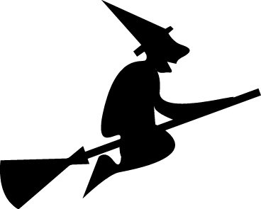 halloween-witch-flying-clipart | Teachers Love SMART Boards