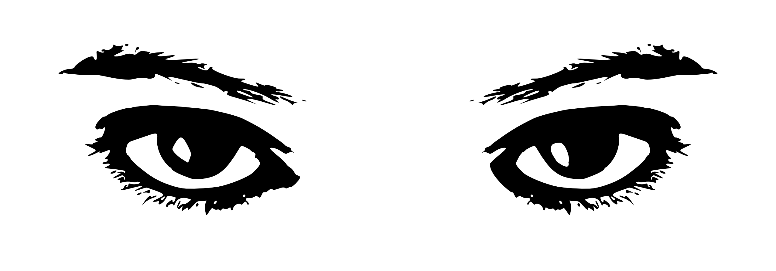 Line Art Eyes : Black and white eyes clip art clipart best