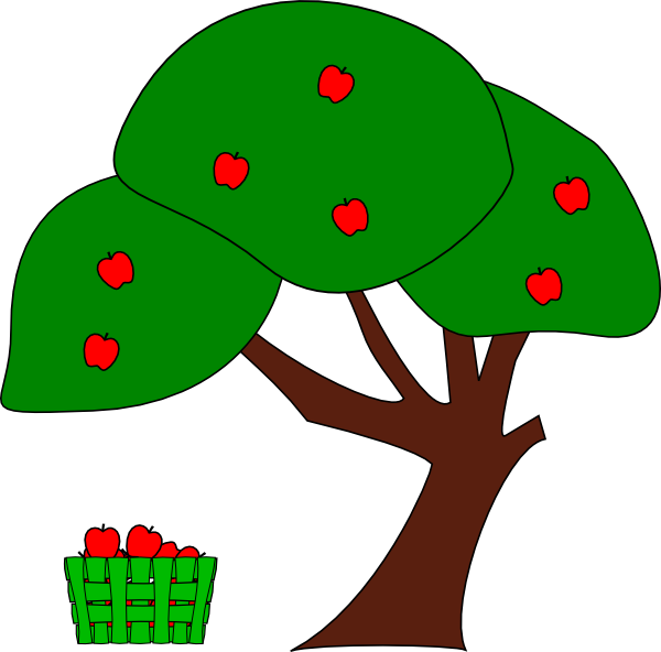 apple tree with roots cartoon . Free cliparts that you can download ...