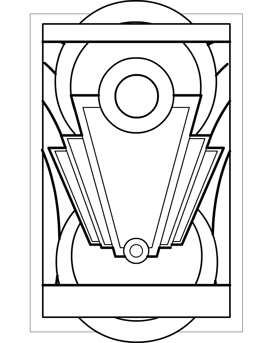 Art deco art clipart best for Art deco patterns