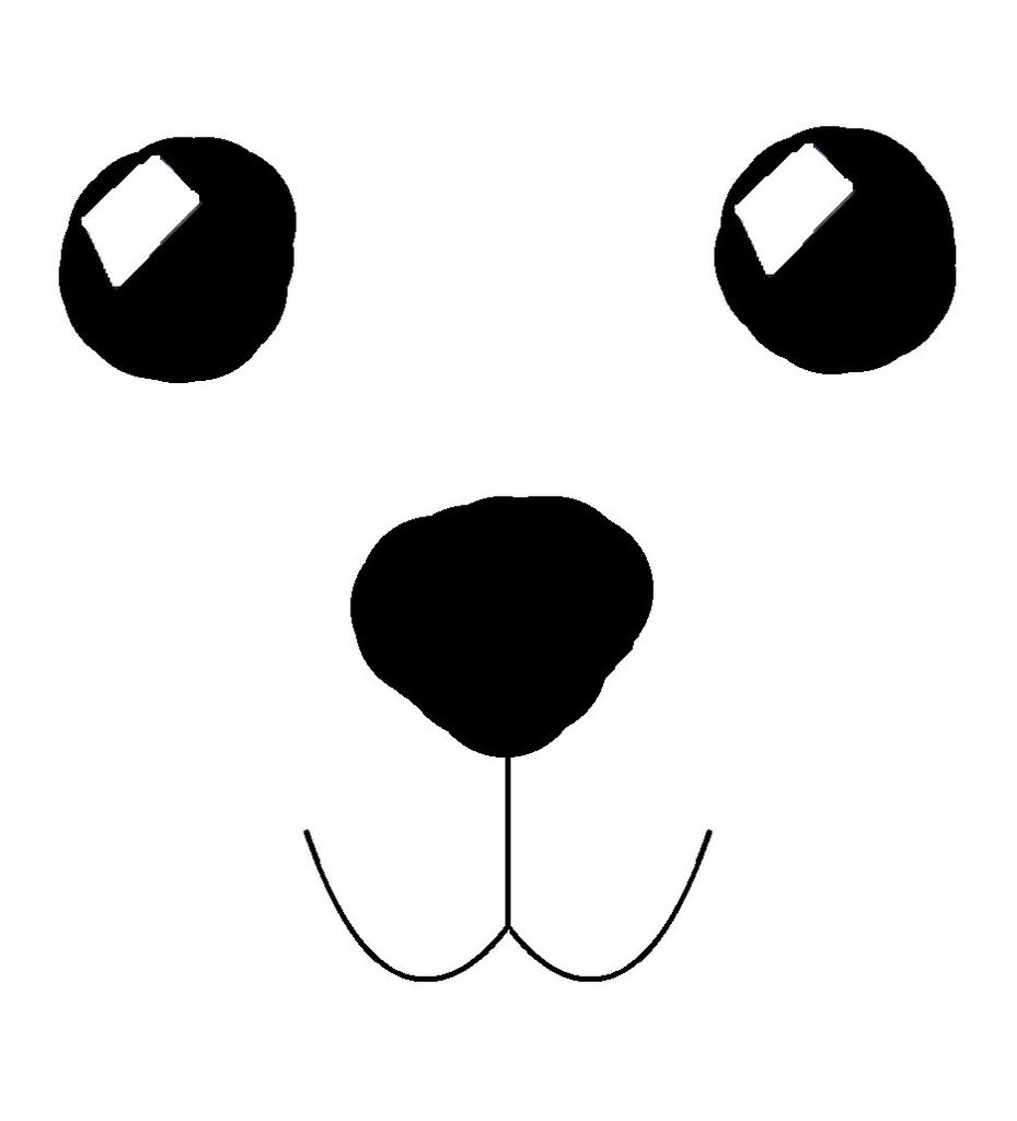 Teddy Bear Face Clip Art