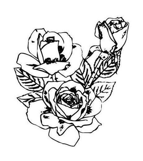 Rose Tattoo Vorlagen 8  Motive