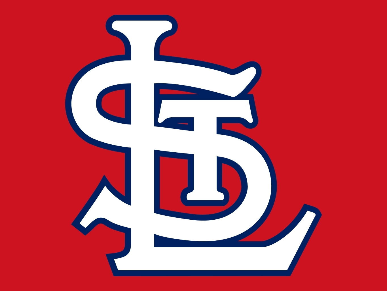 Cardinal Logo Outline st Louis Cardinals Logo