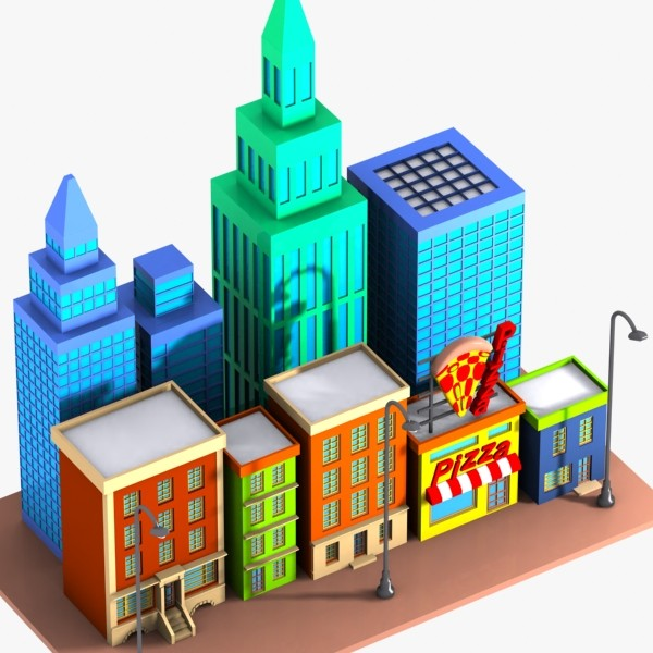 13 cartoon cityscape free cliparts that you can download to you ...