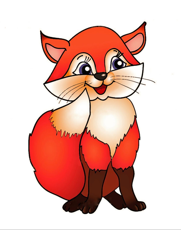 cartoon clipart of a fox - photo #17