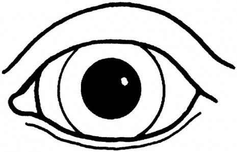 An Eye Coloring Page