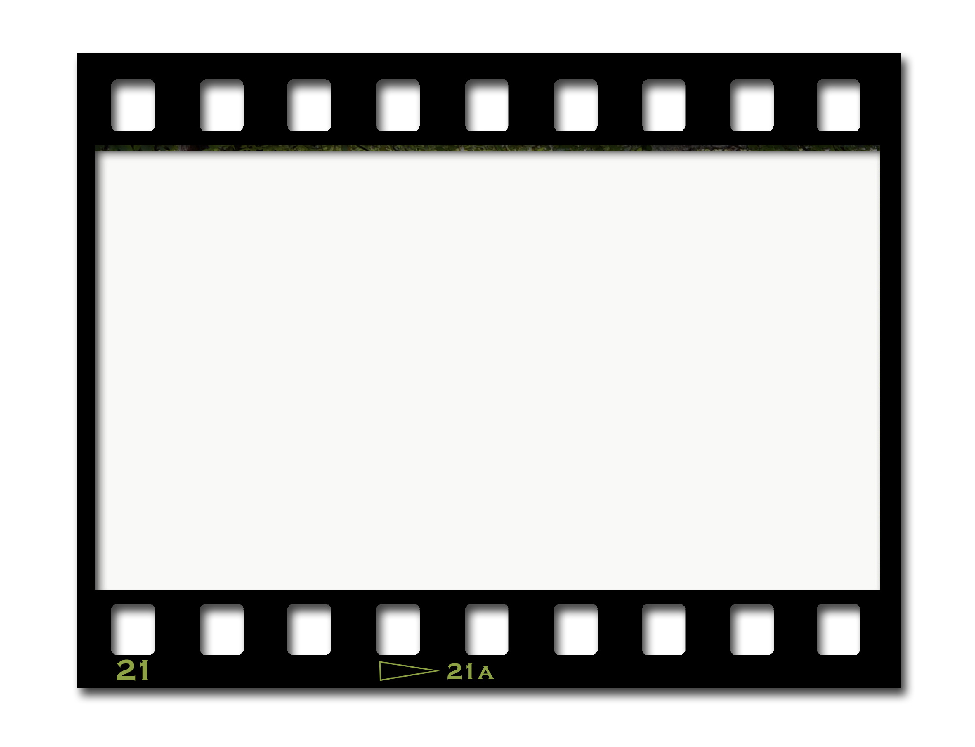 Film strip template for free clipart best for Film strip picture template
